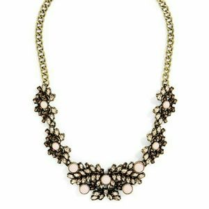 • {SugarFix} Pick of Pink Statement Necklace